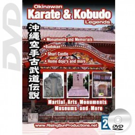 DVD Martial Arts Monuments Museums and More. Okinawa Karate Kobudo Vol.21