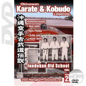 DVD Jundokan Old School 1984. Okinawa Karate Kobudo Vol.22