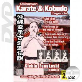 DVD Gichin Funakoshi Shotokan. Okinawa Karate Kobudo Vol.23