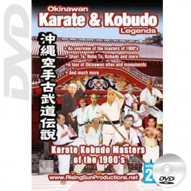 DVD Karate Kobudo Masters of the 1900's. Okinawa Karate Kobudo Vol.24