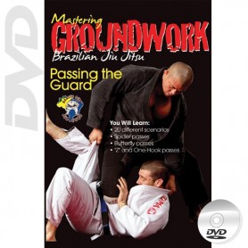DVD BJJ Mastering Groundwork Vol.4 Passing The Guard