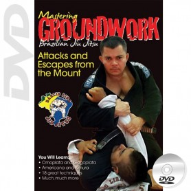DVD BJJ Mastering Groundwork Vol.5 Attacks and Escapes from the Mount