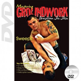 DVD BJJ Mastering Groundwork Vol.6 Sweeps