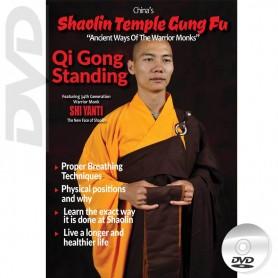 DVD Shaolin Temple Kung Fu Qi Gong Standing