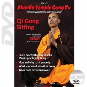 DVD Shaolin Temple Kung Fu Qi Gong Sitting