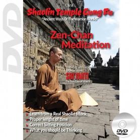 DVD Shaolin Temple Kung Fu Zen-Chan Meditation