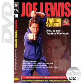 DVD How to Use Tactical Footwork. Joe Lewis Fighting Systems Vol.10