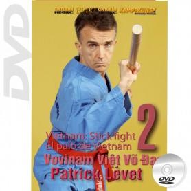 DVD Viet Vo Dao. Bâton Long Vol.2. Quyen Tu Tuong Con Phap Forme & Applications