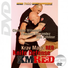 DVD Krav Maga RED Vol.3. Defensa contra Cuchillo