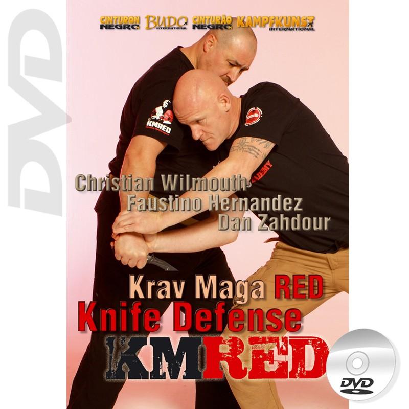 DVD Krav Maga RED Vol.3. Defensa contra Cuchillo