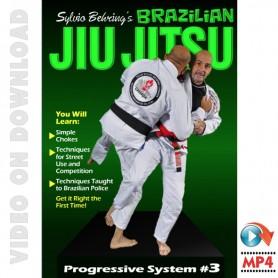 Brazilian Jiu Jitsu 3. Sylvio Behring Progressive System
