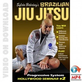 Brazilian Jiu Jitsu. Sylvio Behring Hollywood Seminar Vol.2