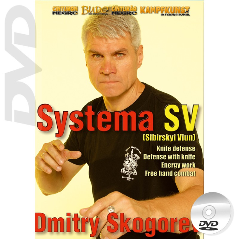 DVD RMA Systema SV Empty Hands & Knife