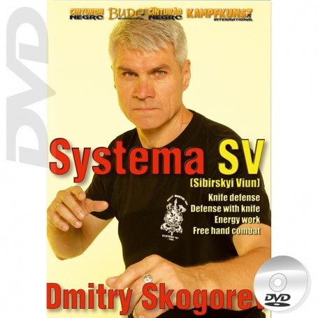DVD RMA Systema SV Empty Hands & Knife