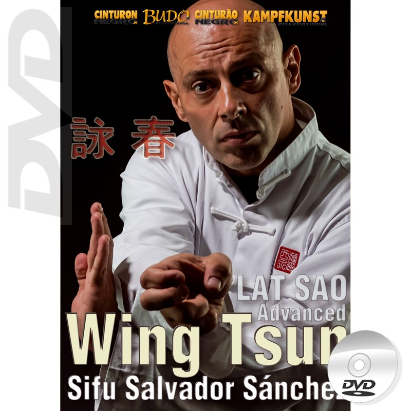 DVD Wing Tsun Lat Sao Advanced. TAOWS Academy