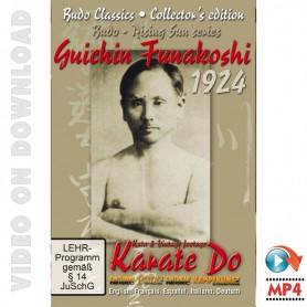 Karate 1924 Kata & Vintage Footage Funakoshi