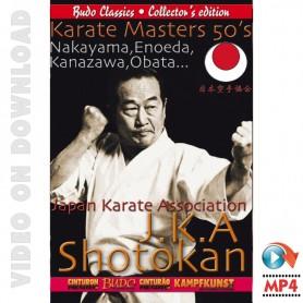 Karate JKA maestri 50's