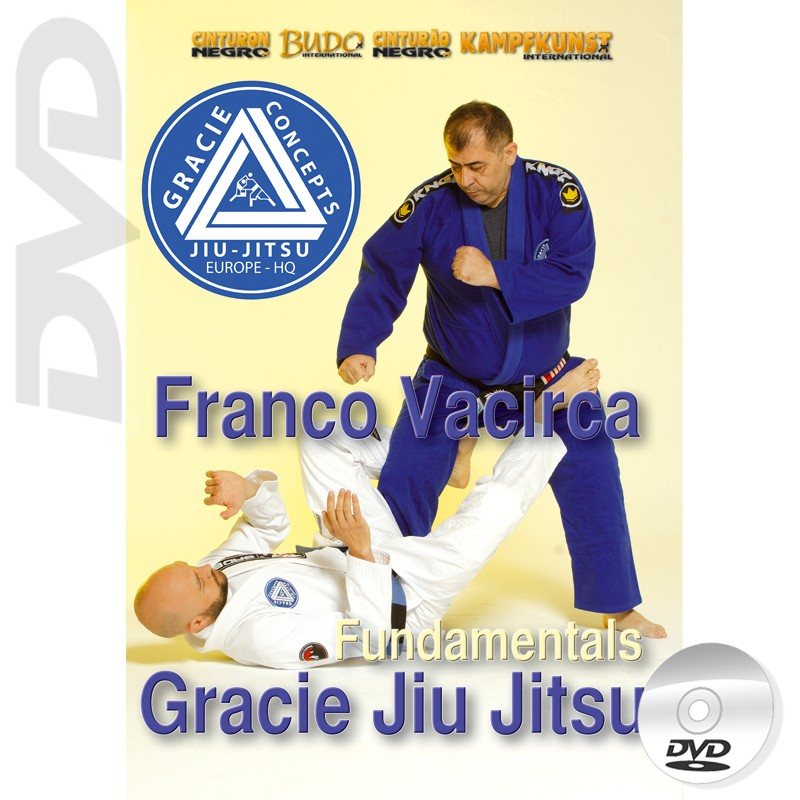 DVD Gracie Jiu Jitsu Fundamentals
