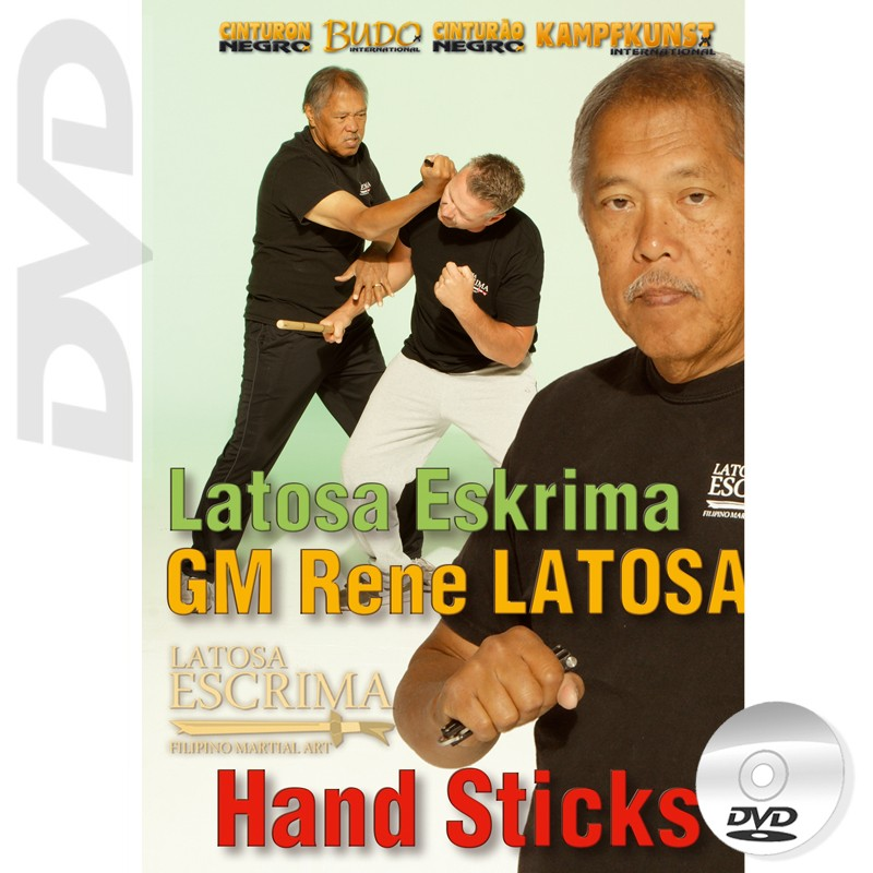 DVD Latosa Escrima Hand Sticks