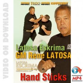 Latosa Escrima Hand Sticks