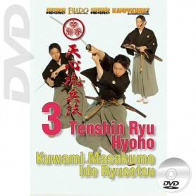 DVD Tenshin-Ryu Hyoho Vol.3