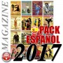 Pack 2017 Spanish Budo International Magazine