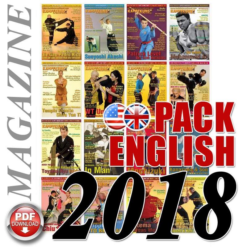Pack 2018 English Budo International Magazine