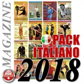 Pack 2018 Italian Budo Cintura Nera Magazine