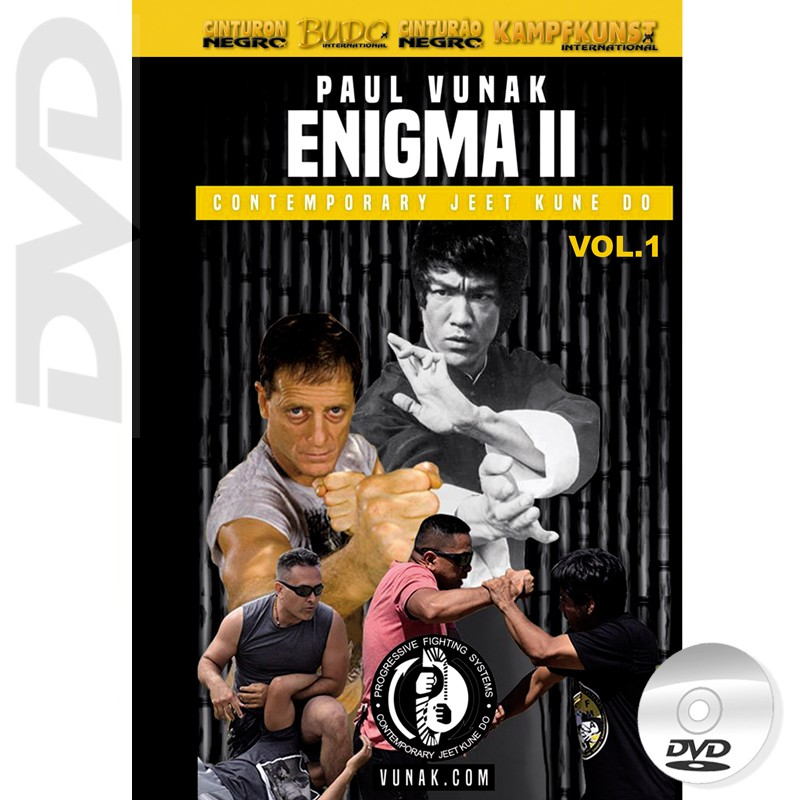 DVD Enigma 2 Vol.1 Paul Vunak Contemporary JKD