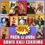 Pack DVD Arnis Kali Eskrima