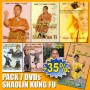 DVD Pack Shaolin Temple Kung Fu