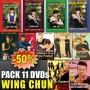 DVD Pack Wing Chun 1