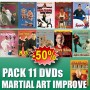 DVD Pack Improve your Martial Art