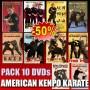 Pack DVD American Kenpo Karate