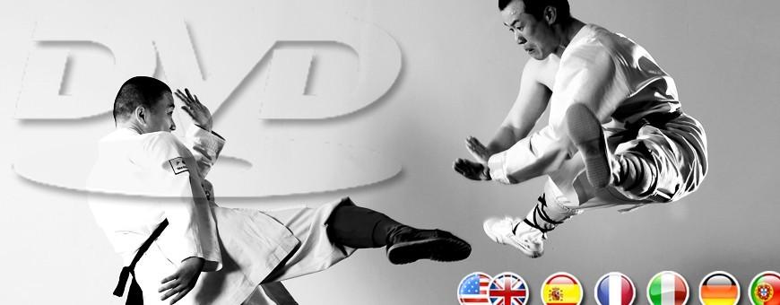 DVD di Arti Marziali, combattimento e difesa personale, training