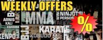 OFFRES HEBDOMADAIRES Arts Martiaux, sports de combat et autodéfense
